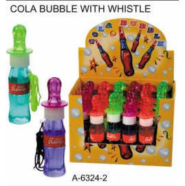 COLA BUBBLE WITH WHISTLE (КОЛА BUBBLE со свистком)