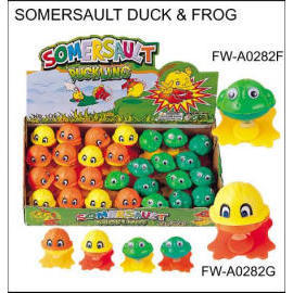 SOMERSAULT DUCK & FROG (Somersault Duck & FROG)