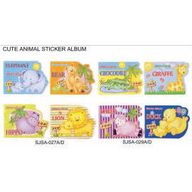 CUTE ANIAML STICKER ALBUM (CUTE ANIAML STICKER ALBUM)
