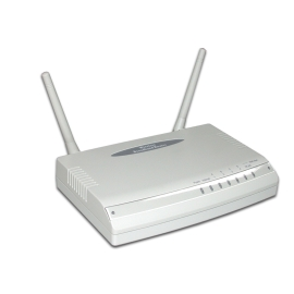 Wireless Router with 4-port Fast Ethernet Switch (Беспроводной маршрутизатор с 4-портовый Fast Ethernet коммутатор)
