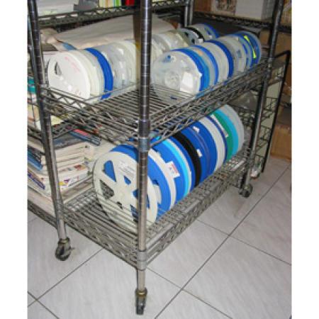 Rack of material wheel, Equipment for high science & technology SMT factory use (Каре Материал колес, оборудование для высокой науки & Технология SMT завода использования)