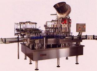 Wash-fill-cap machine (Умывальник заполнить шапку машины)