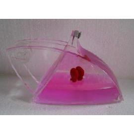Acrylic liquid filled stationeries Tape dispenser (Акриловые заполнена жидкостью канцелярские Tape Dispenser)