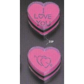 Acrylic sand box-Heart shape (Акриловые песочница-формы сердца)