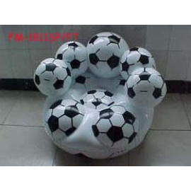 Inflatable Economic Bubble Chair, Patent No.China 2005 2006 5424.3/2005 2006 840