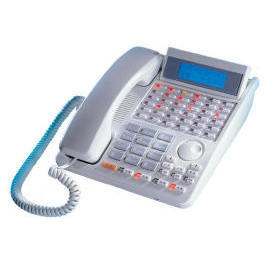 HYBRID KEY TELEPHONE SYSTEM WITH LCD SYSTEM PHONE