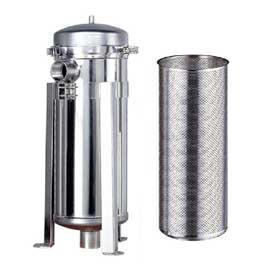 strainer and separator, bag filter, prefilter, waste water treatment equipment