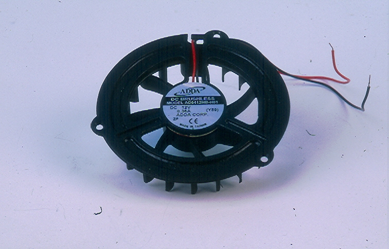 Tourbillion centrifugal fan double inlet