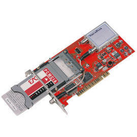 Digital Satellite TV Card with Common Interface