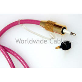6.0mm Outer Diameter, Plastic Fiber-Optic Cables in Various Colors