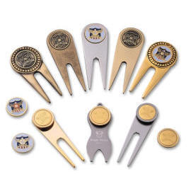 Golf Divot Tool, golf accessories, promotional item