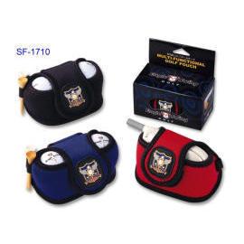 Neoprene Golf Ball Pouch, golf accessories, cell phone cover, promotional item (Néoprène Golf Ball Pouch, des accessoires de golf, couverture téléphone port)