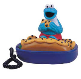 Sesamestreet Telephone-Cookie Monster