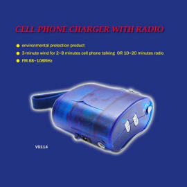 CELL PHONE CHARGER WITH RADIO