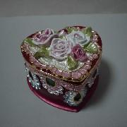 JM-170 Jewel Box, Heart Shape (JM 70 Jewel Box, Heart Shape)