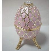 JM-174 Jewel Box w/Music, Big Egg/Trivet (JM-174 Jewel Box w / Musique, Big Egg / Dessous de plat)