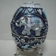 JM-070 Jewel Box, Egg/Trivet (JM-070 Jewel Box, Egg / Dessous de plat)
