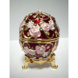 Jewel Box / Egg / Trivet (Jewel Box / Яйцо / подставка)