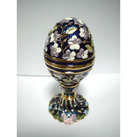 Jewel Boxes / Egg / Stand (Coffrets à bijoux / Egg / Stand)