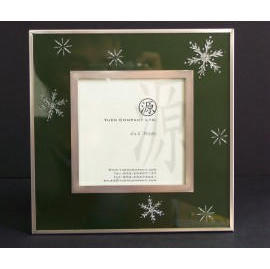 Photo Frame w/Sand Blast - Green (Photo Frame w / Sand Blast - Green)