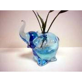 V-105 Glass Vase / Pen Holder