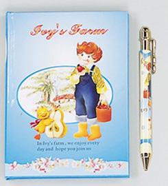 Diary w/ball pen (Дневник W / шариковая ручка)