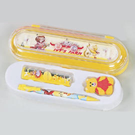 Stationery in pencil case