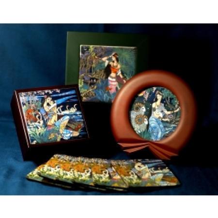 Porcelain Painting Frame, collection and cork coaster (Живописи на фарфоре рамы, сбору и пробки Coaster)