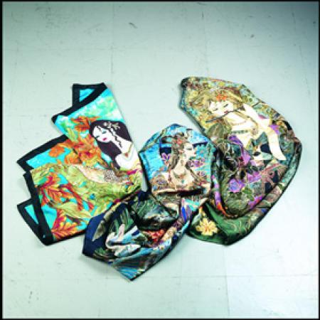 panting scarves of Rosanna Zhang (задыхаясь шарфы Розанна Чжан)