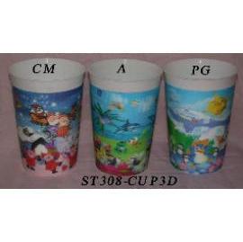 3D PLASTIC CUP (3D пластиковых стаканчиков)
