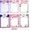 memo pad (блокнот)