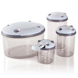 oval vacuum container