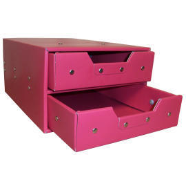 Storage box with 2 drawers (cardboard) (SL-AP02-ICL) (Коробка для хранения с 2 ящиками (картон) (SL-AP02-ICL))
