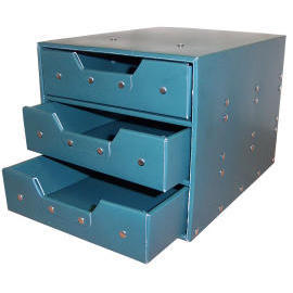 Storage box with 3 drawers (cardboard) (SL-AP03-ICL) (Коробка для хранения с 3 ящиками (картон) (SL-AP03-ICL))