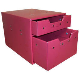 Storage box with 1(S) & 1(L) drawers (cardboard) (SL-AP04-ICL) (Коробка для хранения, с 1 (S) & 1 (L) ящиками (картон) (SL-AP04-ICL))