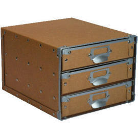 Storage box with 3 Cardboard drawers (SL-AP12-ICL) (Коробка для хранения с 3 ящиками картон (SL-AP12-ICL))