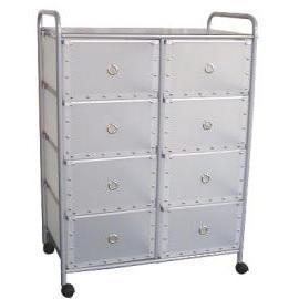 4-tier storage trolley/rack with 8 PP drawers (4 уровня тележки склад / стойку с 8 ящиками ПП)