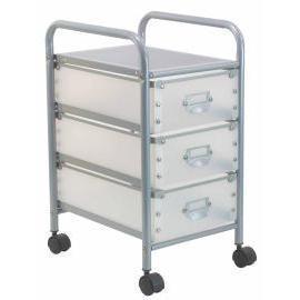 Storage trolley with 3 PP drawers (Хранение тележка с 3 ящиками ПП)