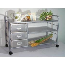 3 Tier storage trolley with 6 PP drawers (SL-IA24-ISL) (3 уровня хранения тележки с ящиками 6 PP (SL-IA24-ISL))