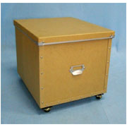 Storage box with cover + caster (SL-AP08-ICL)