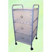 3-tier storage trolley with 3 PP drawers (SL-B313P-INN) (3 уровня хранения тележка с 3 ящиками ПП (SL-B313P-INN))