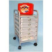 5 Tier storage trolley with 5 PP drawers (SL-IA03-ISL) (5 ярусного хранения тележки с 5 ящиками ПП (SL-IA03-ISL))