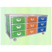 Storage trolley with 9 PP drawers (SL-IA09-S-ISL) (Хранение тележки с ящиками 9 PP (SL-IA09-S-ISL))