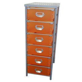 6 Tier storage trolley with 6 PP drawers (SL-IA18-ISL) (6 ярусного хранения тележки с ящиками 6 PP (SL-IA18-ISL))