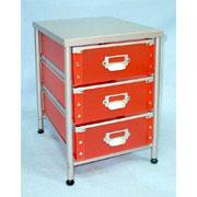 3 Tier storage Rack with 3 PP drawers (SL-IA20-ISL) (3 Tier стеллаж для хранения с 3 ящиками ПП (SL-IA20-ISL))