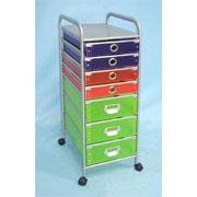 Storage trolley with 4 small & 3 large PP drawers (SL-IA30-ISL) (Хранение тележка с малыми 4 & 3 больших ящиков ПП (SL-IA30-ISL))