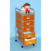 5 Tier storage trolley with 5 PP drawers (SL-IA55-ISL) (5 ярусного хранения тележки с 5 ящиками ПП (SL-IA55-ISL))