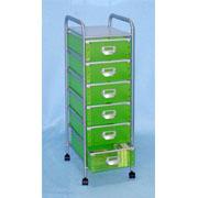 6 Tier storage trolley with 6 PP drawers (SL-IA56-ISL) (6 ярусного хранения тележки с ящиками 6 PP (SL-IA56-ISL))