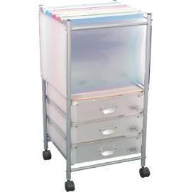 3 Tier storage trolley with 3 PP drawers (SL-IA38B-ISL) (3 уровня хранения тележка с 3 ящиками ПП (SL-IA38B-ISL))