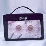 Cosmetic Bag (with Silk-cloth in special printing)